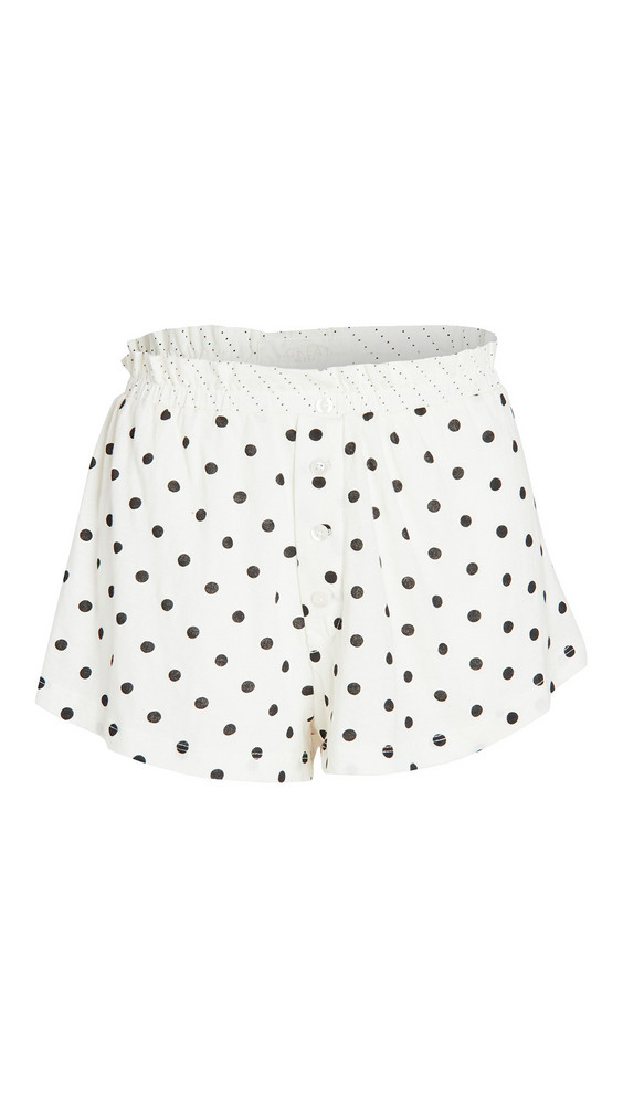 THE GREAT. THE GREAT. The Tap Shorts in white