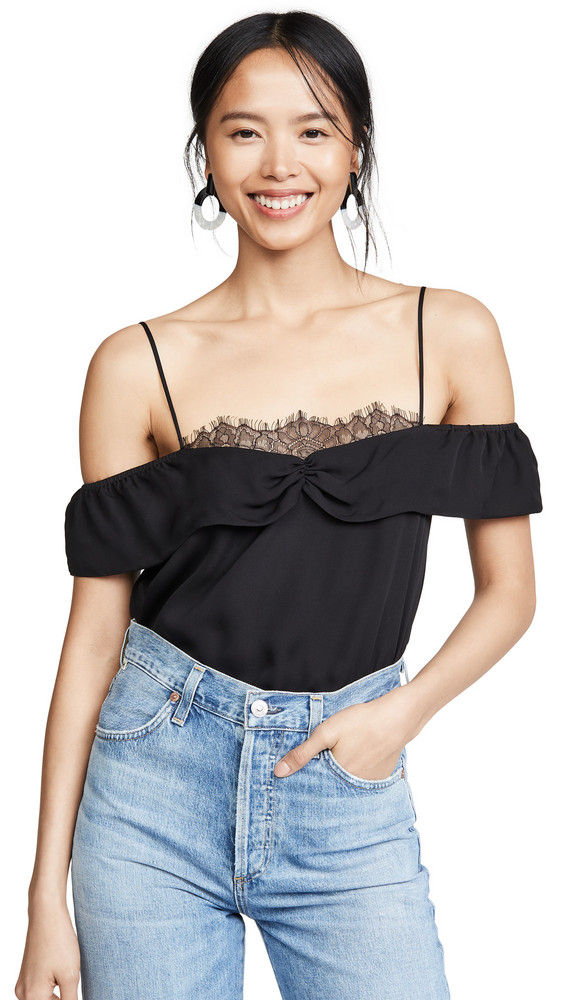 8f3fbcca2033ff CAMI NYC The Millie Blouse in black