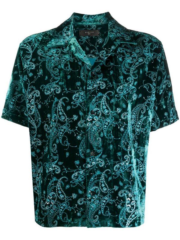 AMIRI short-sleeved shirt in green