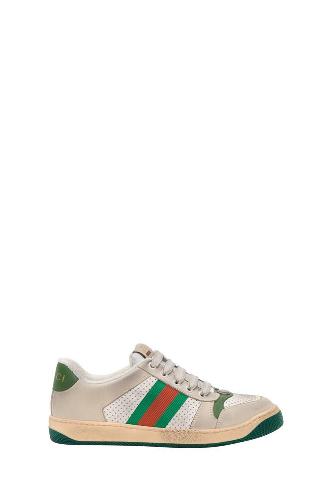 Gucci Screener Woman Sneaker in bianco