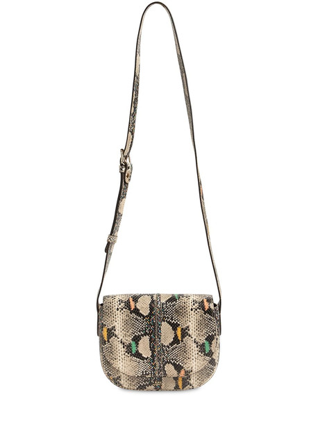A.P.C. Betty Printed Python Leather Bag