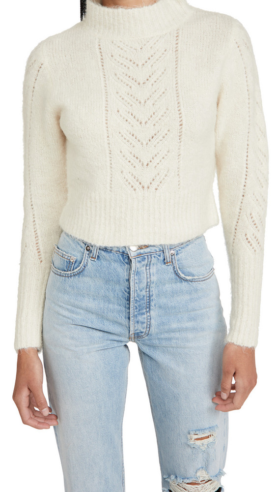 Line & Dot Carli Sweater in ivory