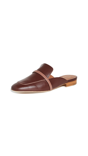 Malone Souliers Jada Flat Mules in brown