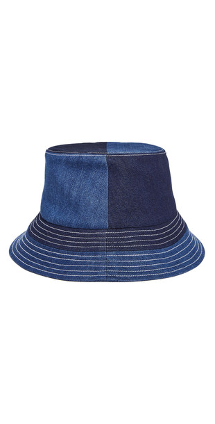 STAUD Denim Bucket Hat