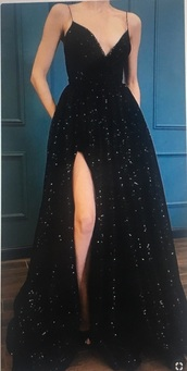 dress,prom dress,sequins