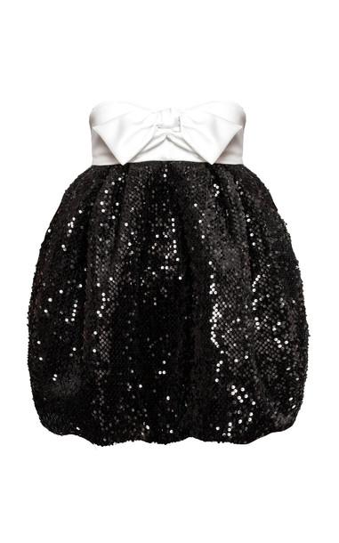 Alexandre Vauthier Strapless Sequin-Embellished Mini Dress Size: 36