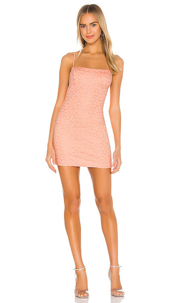 superdown Claudette Mini Dress in Pink