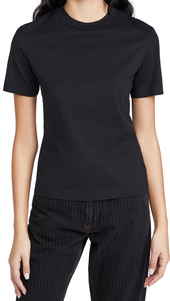 Acne Studios Fitted T-Shirt in black