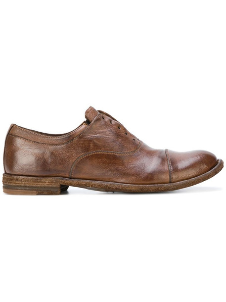 Officine Creative Lexikon Oxford shoes in brown