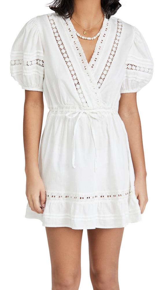 Rahi Natalia Dress in white