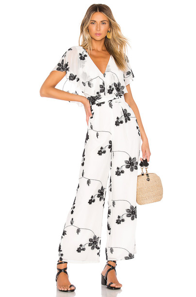 House of Harlow 1960 x REVOLVE Yasmine Jumpsuit in white