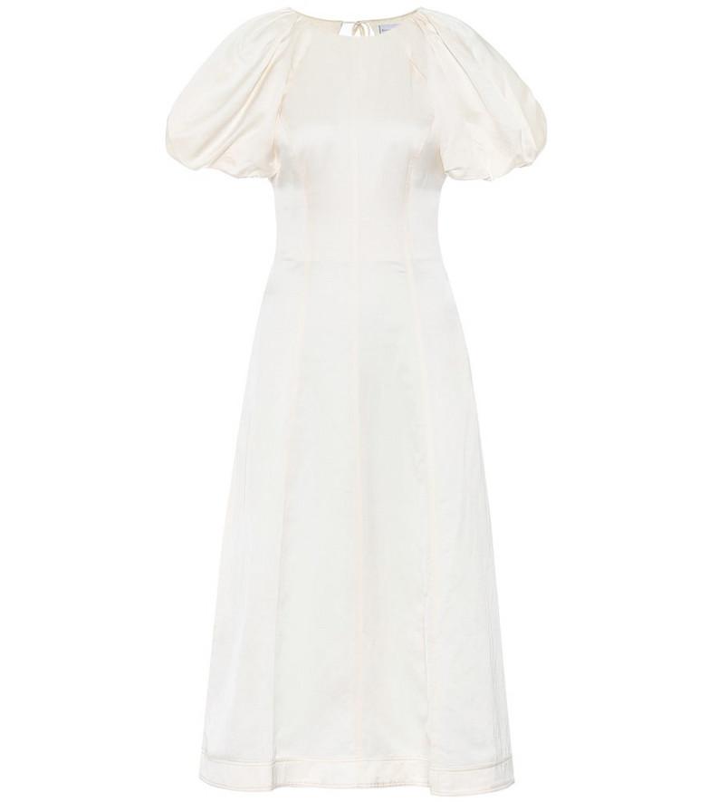 Rebecca Vallance Aimee midi dress in white