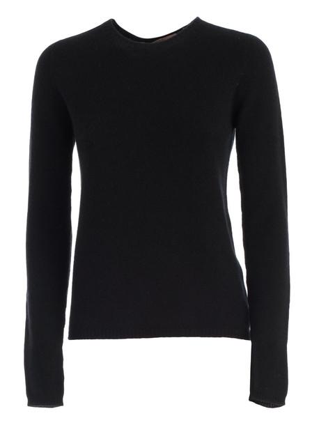 Nuur Sweater L/s Crew Neck Cashmere in black
