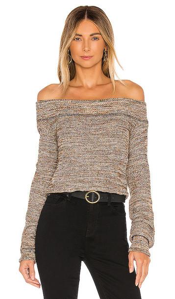 Free People Sugar Rush Sweater in Black