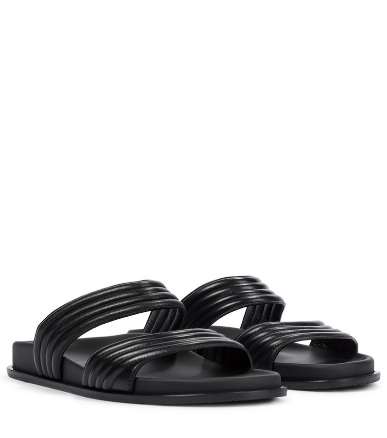 Alaïa Leather sandals in black