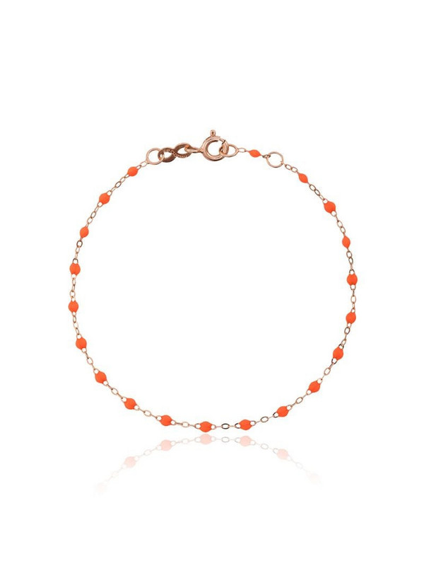 Gigi Clozeau 18kt rose gold bead bracelet in yellow
