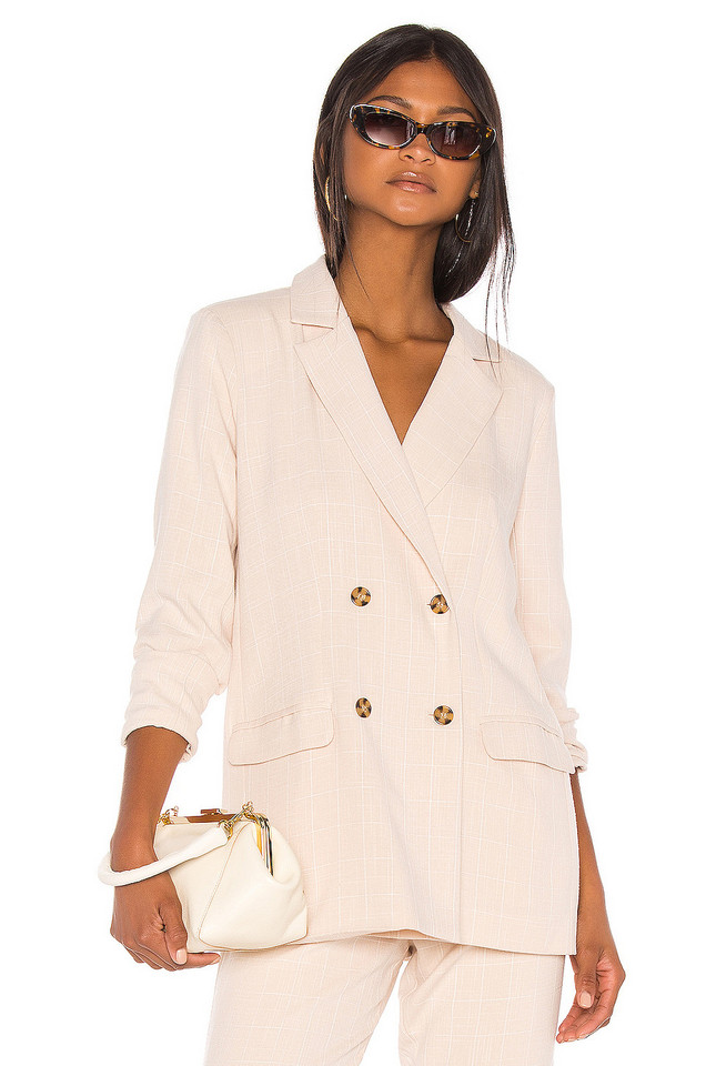 Song of Style Kroy Blazer in beige