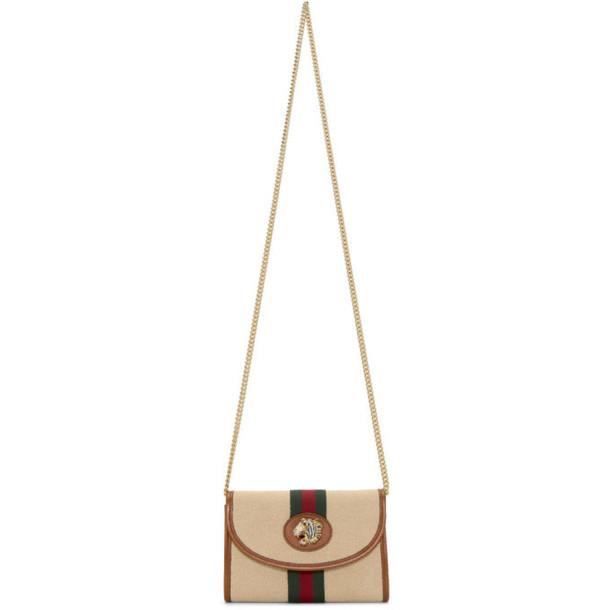 Gucci Beige Mini Rajah Bag