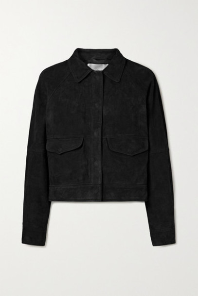 Deadwood - Kylie Suede Jacket - Black