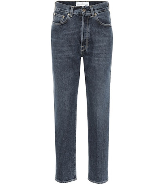 Golden Goose Deluxe Brand Judy high-rise straight jeans in blue