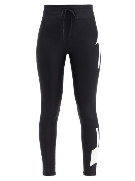 The Upside - Original Logo-print Jersey Leggings - Womens - Black