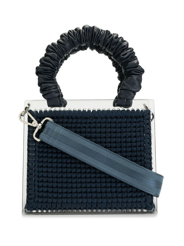 0711 St. Barts Purse tote in blue