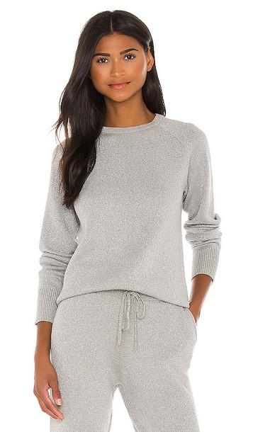 Lovers + Friends Lovers + Friends Sierra Pullover in Grey in silver