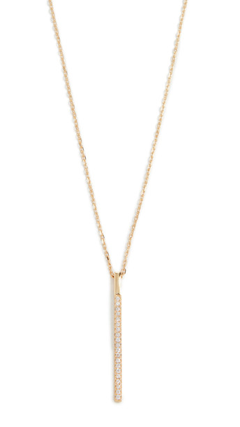 Shashi Endless Necklace in gold