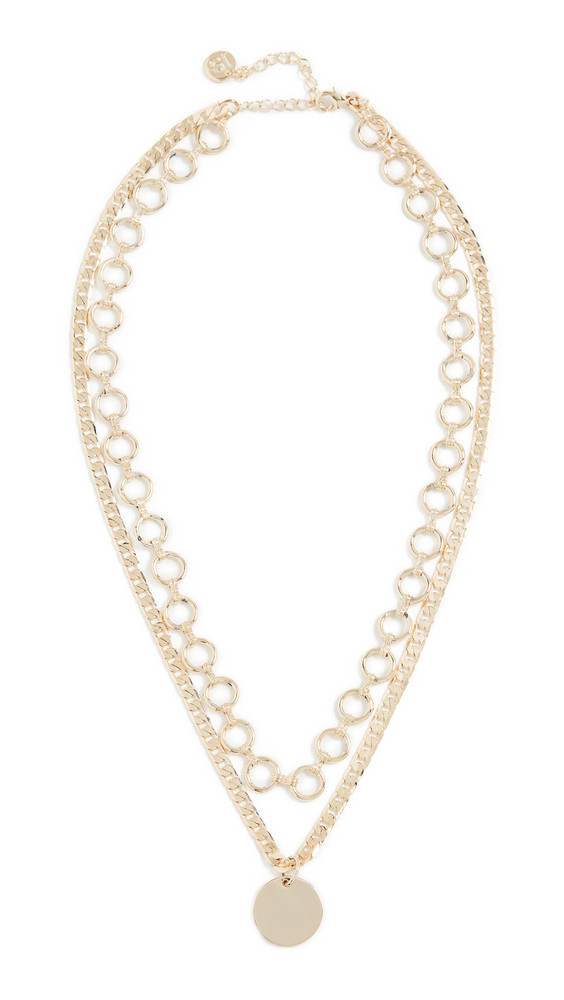 Jules Smith Charming Chain Necklace in gold
