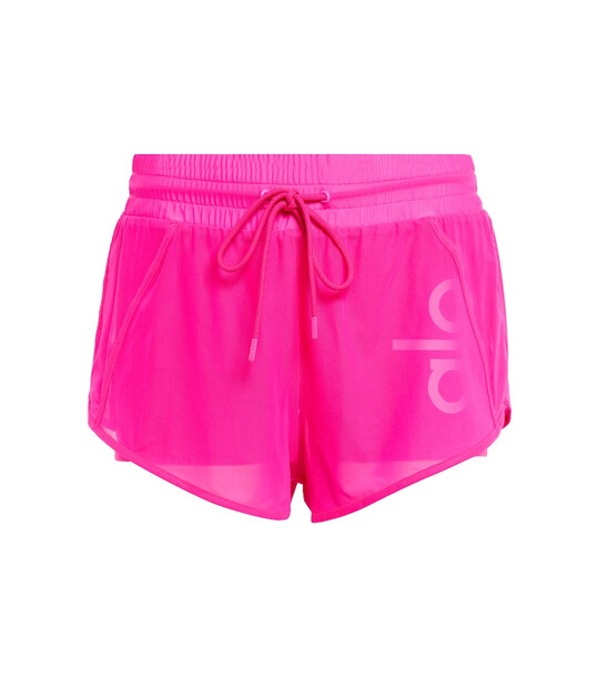 Alo Yoga Ambience shorts in pink