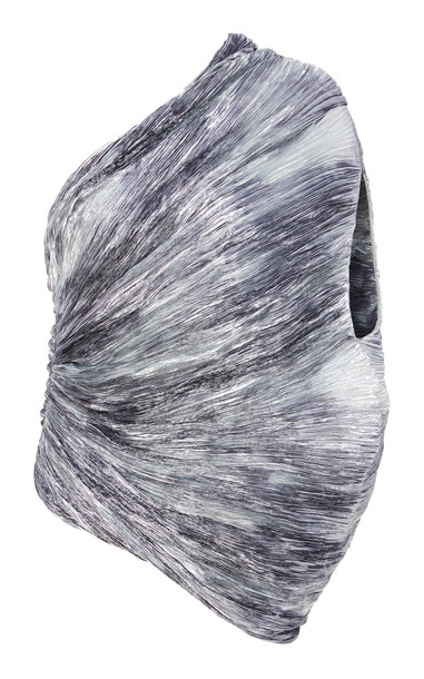 Rosie Assoulin Cocoon Top Size: 8 in metallic