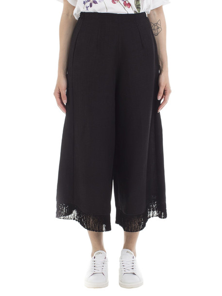 Forte Forte Forte Forte Sabbia Flared Trousers in black