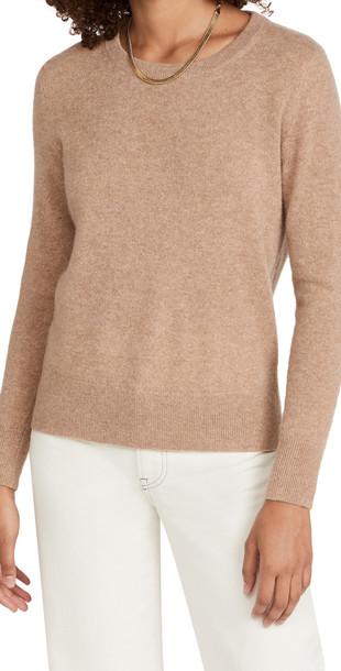 White + Warren White + Warren Classic Crewneck Cashmere Sweater