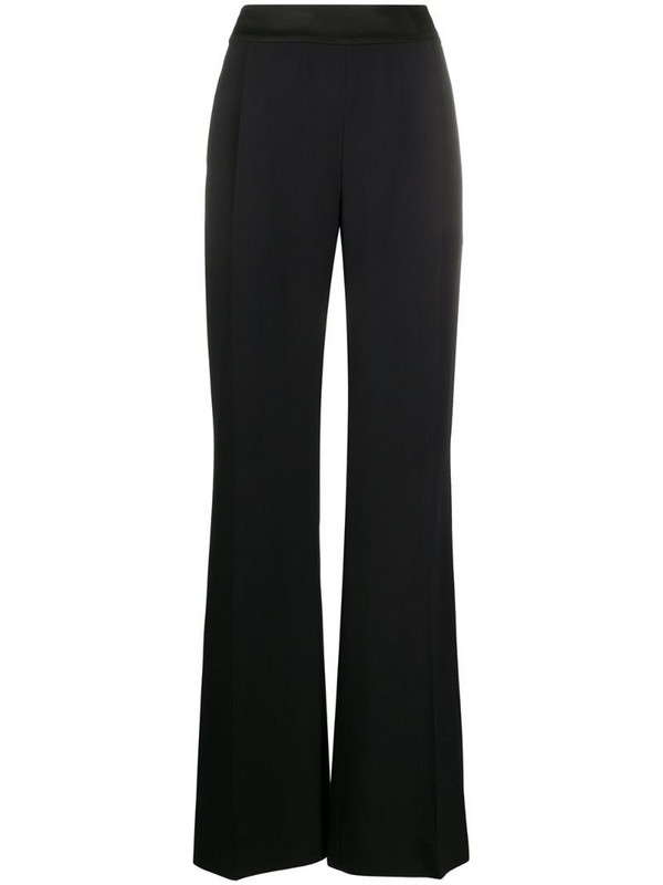 Alberta Ferretti high-waist flared trousers in black