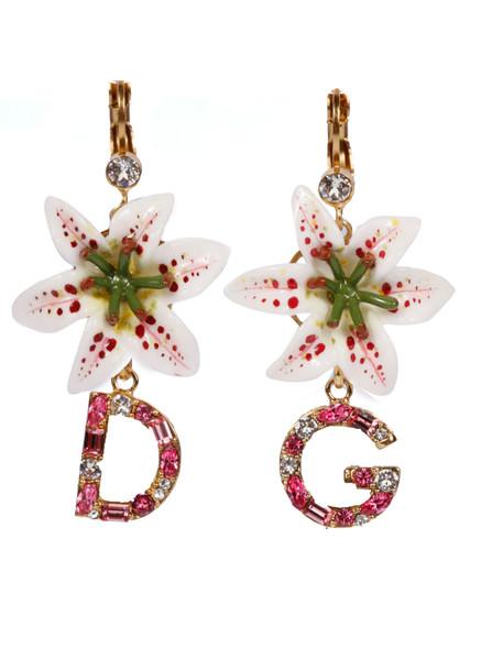 Dolce & Gabbana Floral Earrings