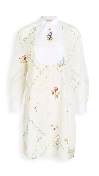 Tory Burch Handkerchief Tunic Dress