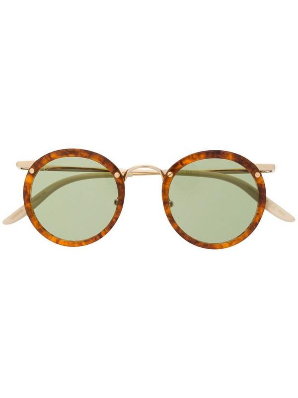 Gucci Eyewear GG0674S round-frame sunglasses in neutrals