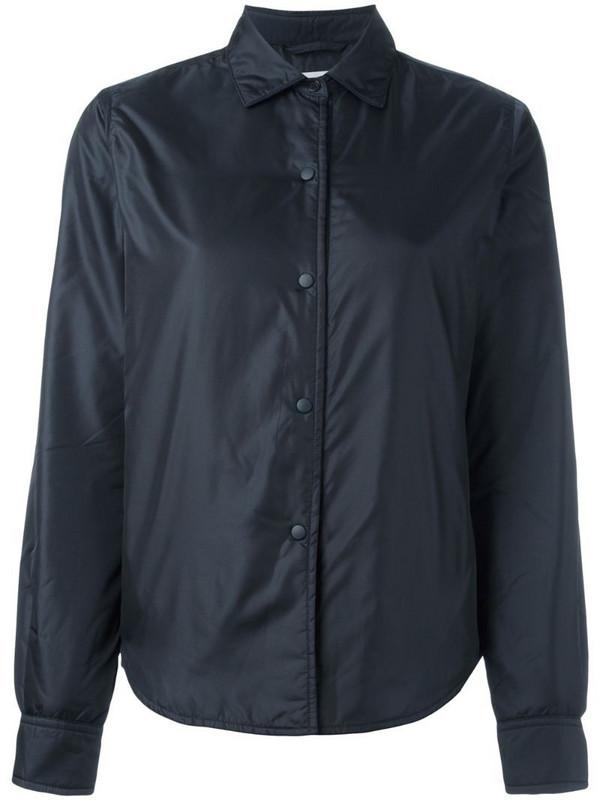 Aspesi padded shirt jacket in blue
