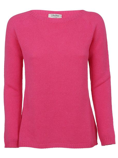 Max Mara Fuchsia Cashmere Sweater
