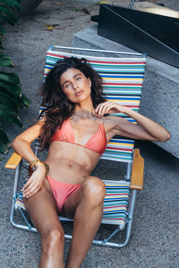 Cult Gaia Zoey Bikini Bottom - Sunset (PREORDER)                                                                                               $149.00