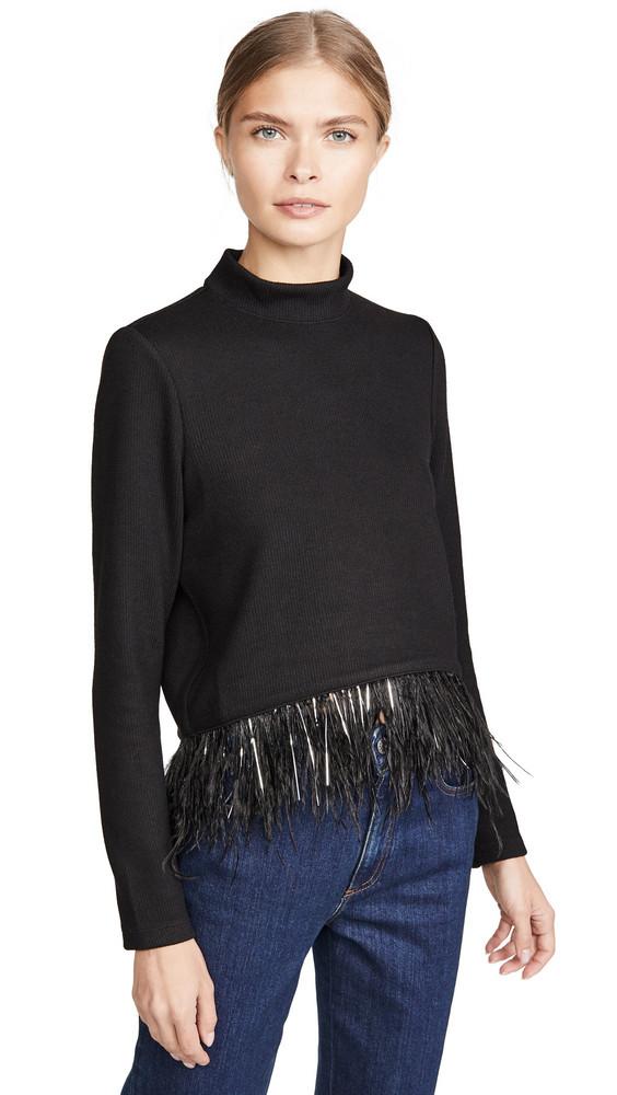 Saylor Milana Top in black