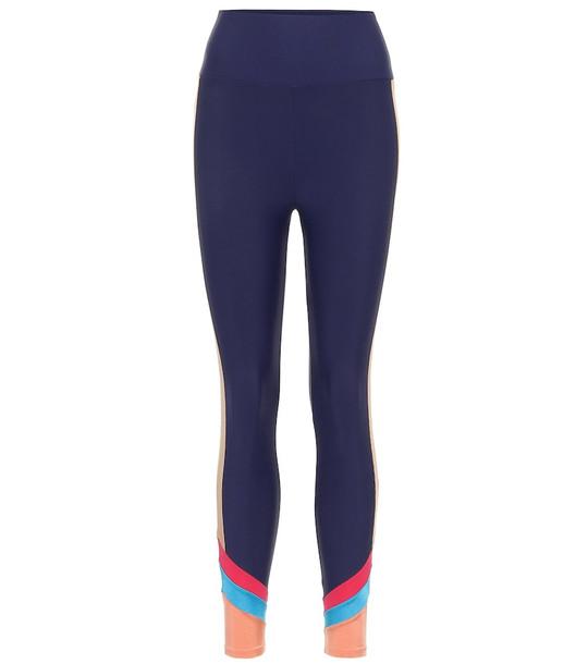 Lanston Sport Captivate leggings in blue