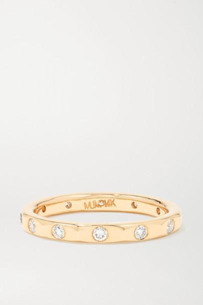 Melissa Joy Manning - 14-karat Gold Diamond Ring