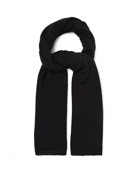 Rick Owens - 09 Wool Scarf - Womens - Black