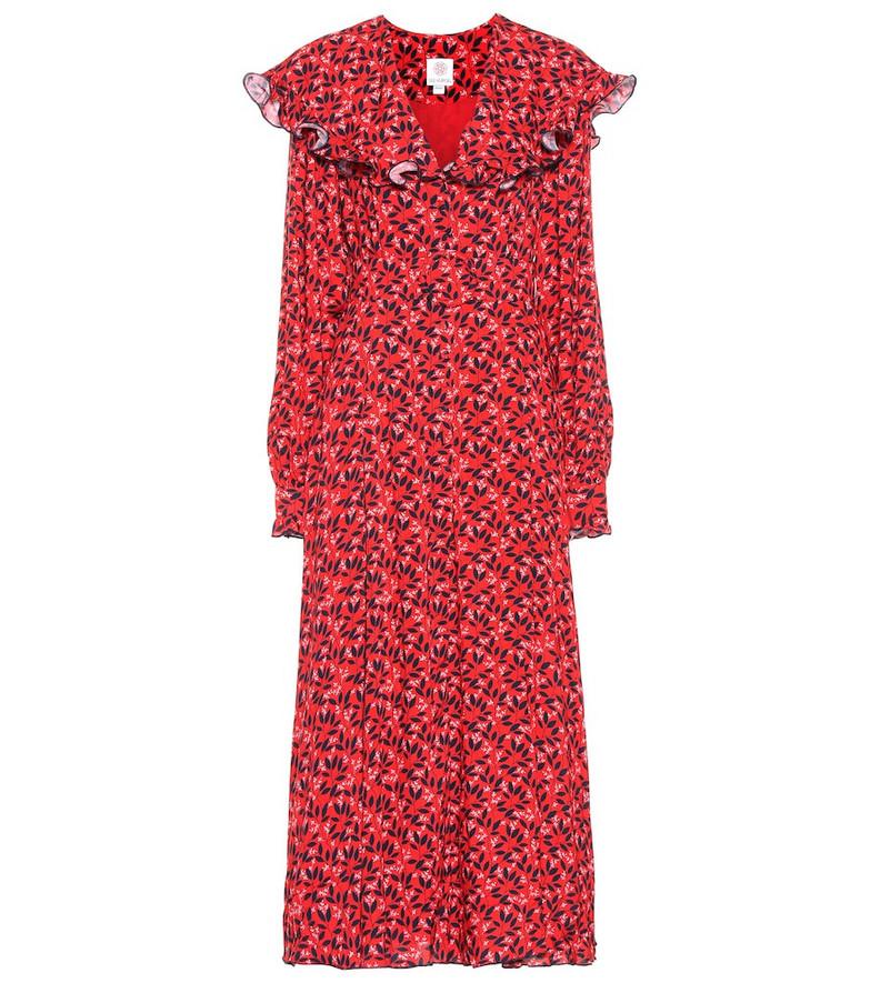 Gül Hürgel Floral maxi dress in red