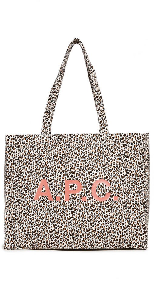 A.P.C. A.P.C. Diane Tote in leopard