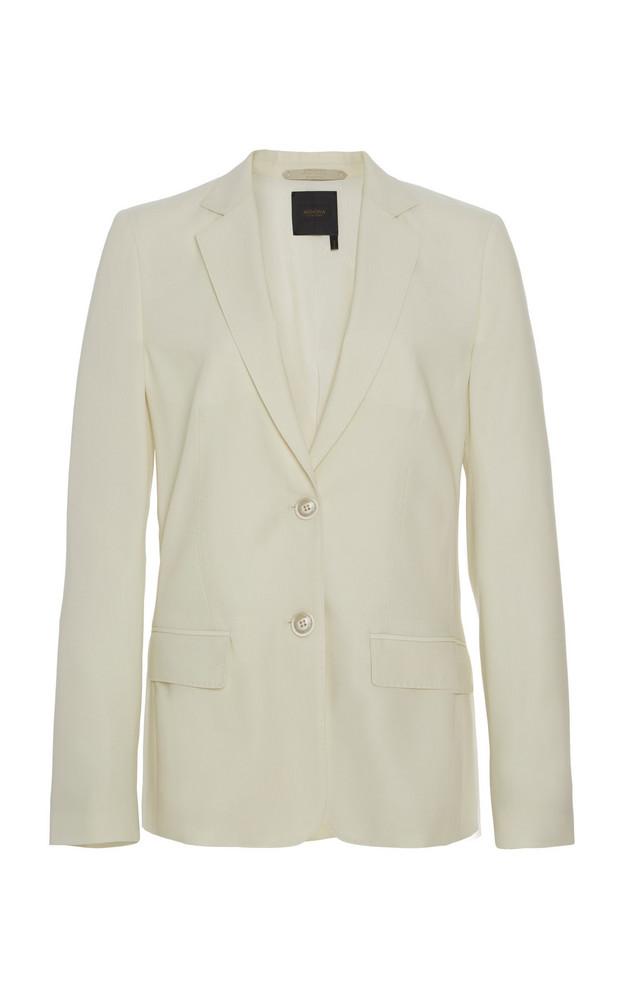 Agnona Eternals Wool Blazer in white