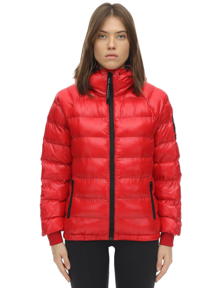 PEAK PERFORMANCE W Tomic Puffer Jacket in red