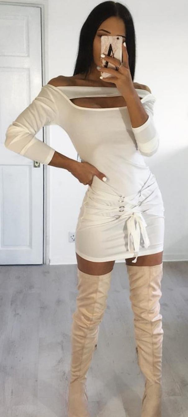 dress same color same off-white beige