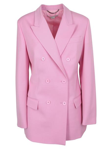 Stella Mccartney Double-breasted Blazer in pink